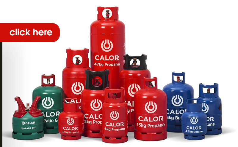 Calor Gas Stoke - Local Delivery Available