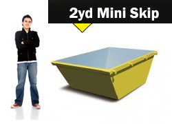 2yd Mini Skip Hire Stoke on Trent and Newcastle under Lyme