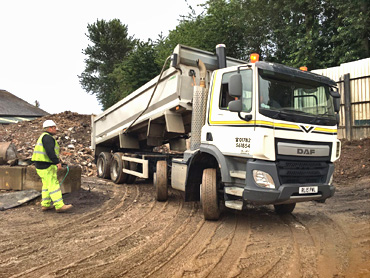 8 Wheel Tipper Hire Stoke - Newcastle under Lyme
