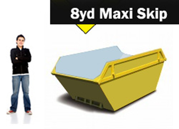 8yd Skip Hire Stoke on Trent and Newcastle under Lyme