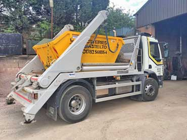 Low Cost Skip Hire in Stoke on Trent and Newcastle under Lyme