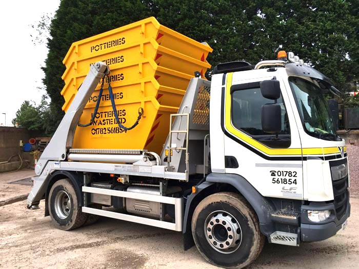 Skip Hire Stoke - Potteries Waste Ltd Newcastle under Lyme